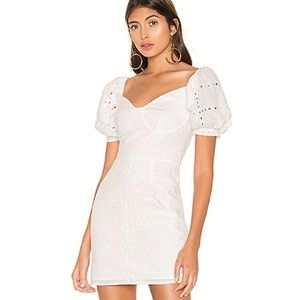 superdown shila puff sleeve dress